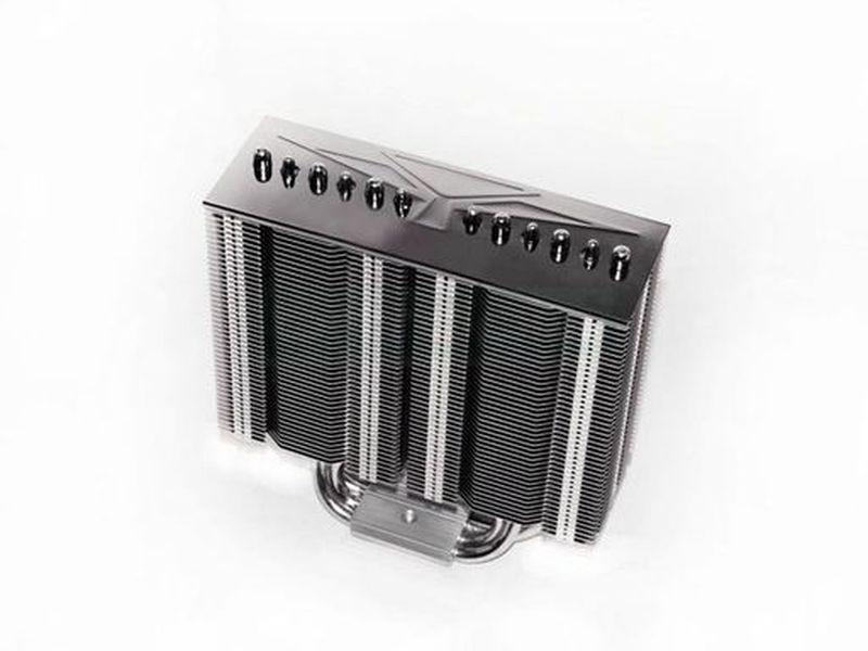 Prolimatech Armageddon 1156/1366 - Disipador de CPU compatible con socket 115x y 1366 (con kit opcional con socket AM2. AM2+ y AM3). Diseñado para ventiladores de 140mm. no incluidos. permite añadir uno o dos. Con tecnología heat-pipe.