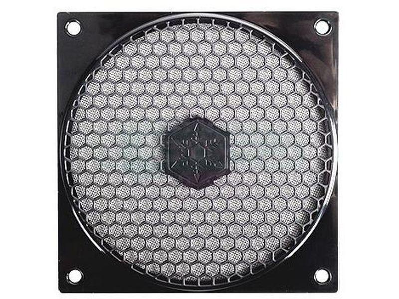 SilverStone FF121 Rejilla - Rejilla diseñada para ser instalada fácilmente con cualquier ventilador de 120mm.
