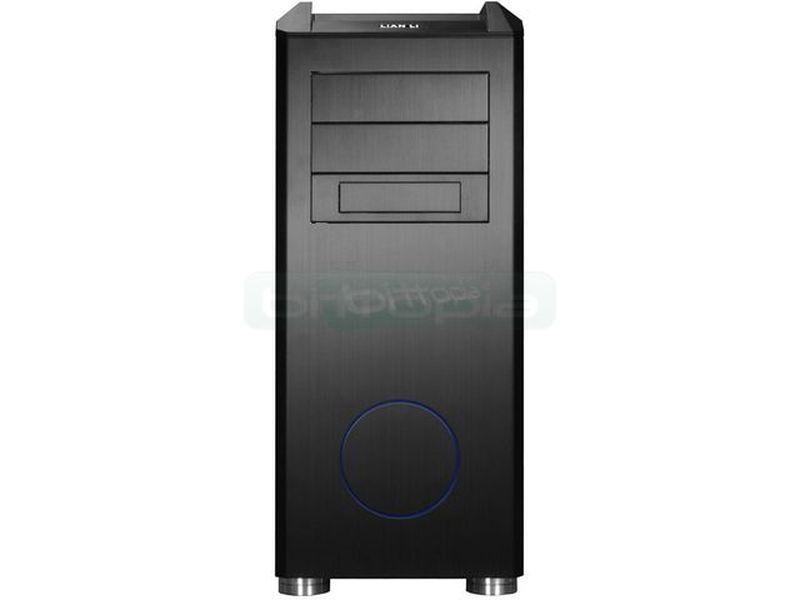 Lian-Li PC-B25SB Silent Negra - Avanzado diseño en elegante color negro con toques en azul que le aportan personalidad. Incluye todo tipo de detalles para hacerla más silenciosa