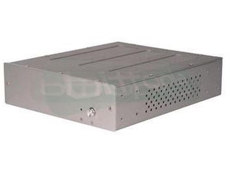 SilverStone PETIT PT03S plata, caja Mini ITX - Caja en formato Mini-itx,