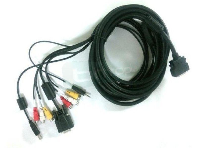 Cable 5 metros para monitor Xenarc táctil 26 pines