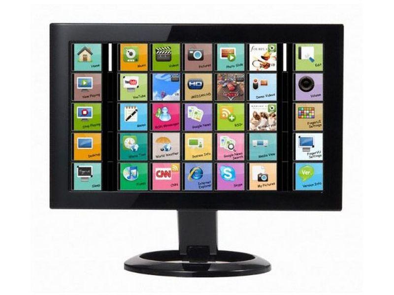 Imon FingerVU 895 Negro - Monitor auxiliar 8,9