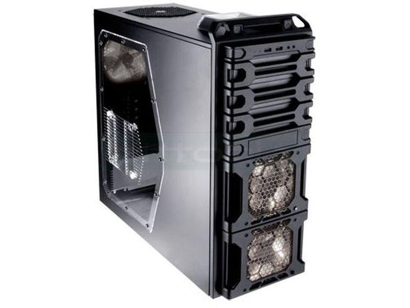 Antec DARK FLEET DF-35 - Combina un estilo sobrio con la funcionalidad de vanguardia. Fácil acceso a los cajetines de los discos duros por la parte frontal, gracias al sistema Fleet Release. Sistema Hot-Swap para dos de los discos de 3.5.