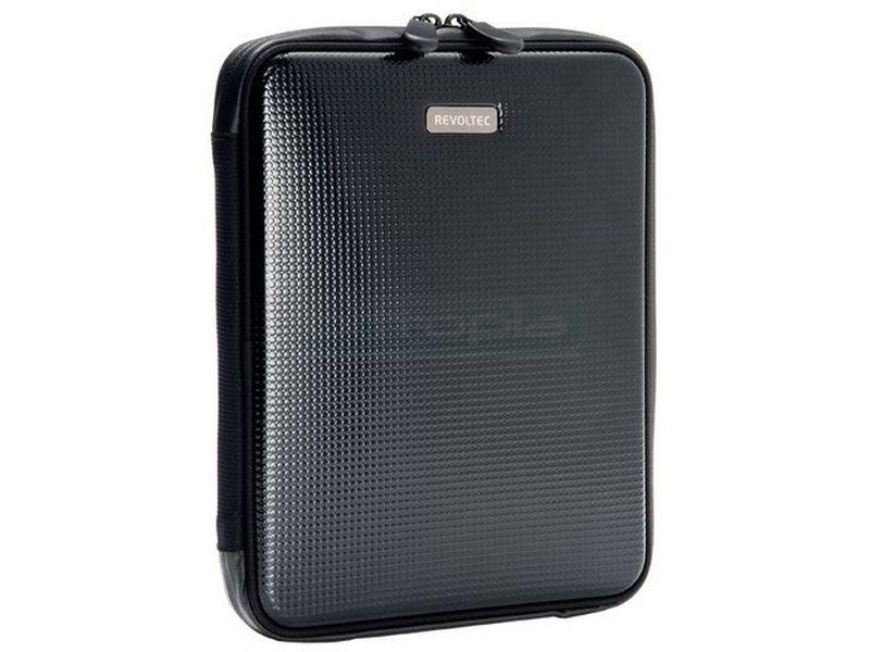 Revoltec RZ047. Funda para iPad - Funda para Ipad en elegante color negro, semi-rígida.