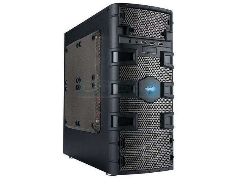 Inwin Dragon Slayer Caja Micro-ATX - Caja para gaming extremo compatible con placas micro-ATX con un diseño muy atractivo. Equilibrio PERFECTO entre dimensiones, potencia y refrigeración. Cubierta con una armadura metálica inspirada en los caballeros medievales.
