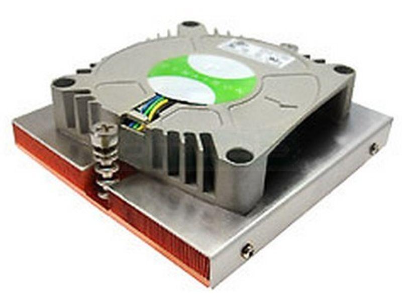 Dynatron Q2 1567 Rack 1U Activo - Cooler de bajo perfil para RACK 1U compatible con socket 1567 con ventilador de 70mm tipo blower.