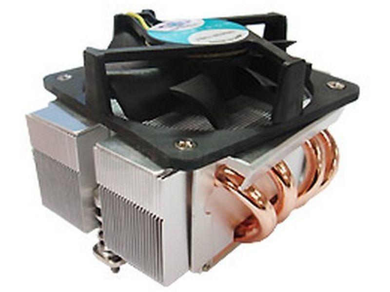 Dynatron Q3 1567 Rack 2U Activo - Cooler de bajo perfil para RACK 2U compatible con socket 1567 con ventilador de 77x77x20 PWM superior.