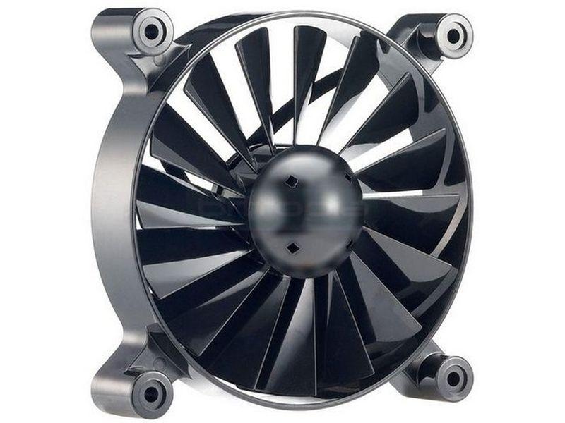 Cooler Master Turbine Master 120x120x25 800rpm - Incluir la tecnología Baromeytric Ball Bearing. Permite que puedas desmontar el ventilador, para lavar las aspas y el rotor fácilmente. 16 palas diseñadas para poder capturar aire desde todas las posiciones, ofrece un mayor flujo de aire a menores vueltas.