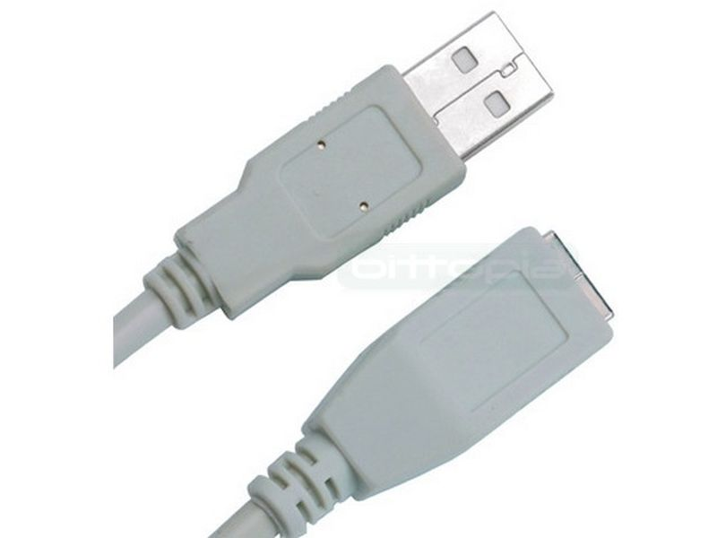 OEM cable USB2.0 Tipo A-B Macho Hembra 3m. Beige - Cable USB2.0 Tipo A-B Macho Hembra 3m. Beige