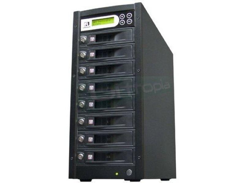 UReach duplicadora de discos duros HD-S07 - Duplicador autónomo de Discos Duros SATA 2.5 y 3.5. que no require uso del PC.