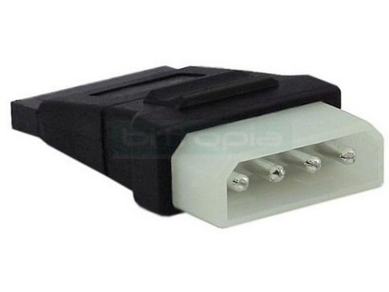 Inline 29678A. Adaptador alimentación interna. Molex 5.25 a SATA Power - Adaptador alimentación de Molex 5.25 a SATA Power. Sin cable