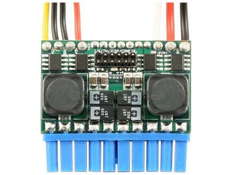 F.A. Inteligente Pico-PSU M3-ATX-HV 95W DC-DC CAR-PC 6-34V - Fuente interna DC-DC de 95W y soporta un rango de 6V a 34V en formato PicoPSU. Es ideal para el montaje de equipos de tipo CarPC o equipos que se alimenten por baterías.