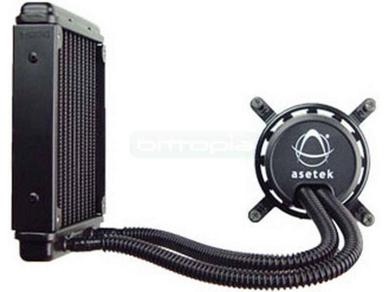 KIT Asetek 550LC Gen 4. Radiador 120mm. Incluye ventilador - Sistema de refrigeración líquida completo, ideal para todo tipo de equipos, sencillo  mantenimiento e instalación (liquido ya incluido).