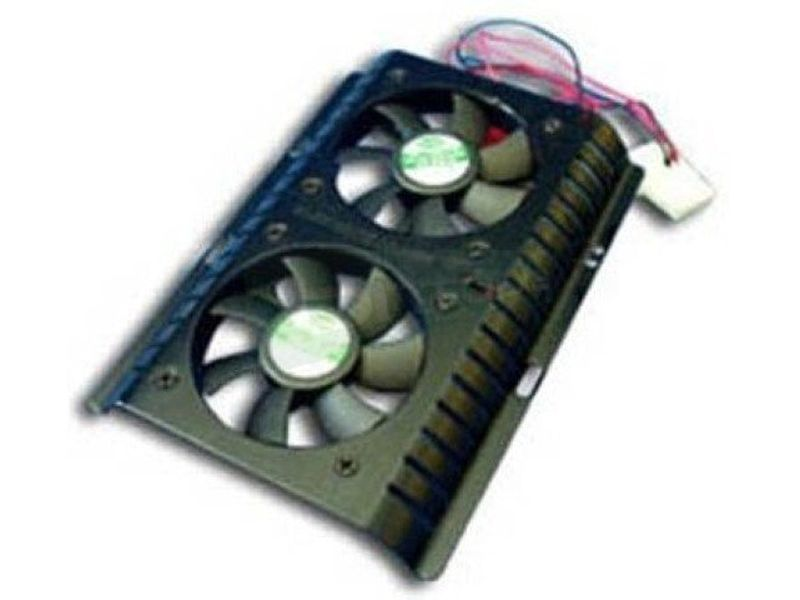 OEM Cooler disco duro con 2 ventiladores - Cooler para disco duro con dos ventiladores de 60mm con excelente relación calidad-precio.
