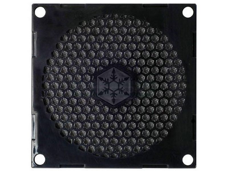 SilverStone FF81 Rejilla - Rejilla diseñada para ser instalada fácilmente con cualquier ventilador de 80mm.