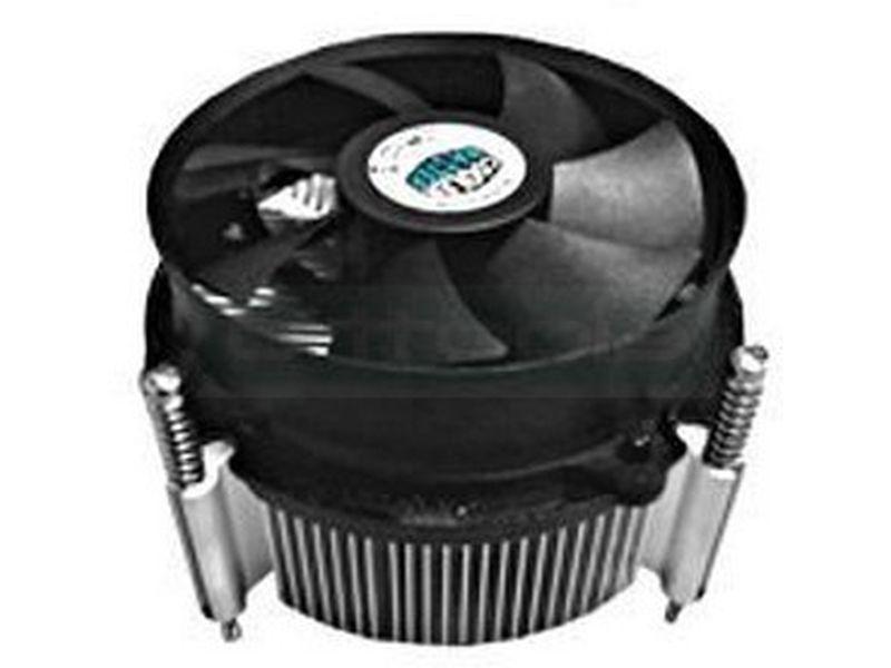 Cooler Master Integración Socket 1366 cobre PWM - Cooler para CPU de integración compatible con socket 1366. Fabricado en aluminio, incluye ventilador. Dimensiones: 105x105x65.6 mm