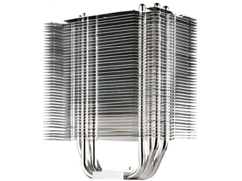 Cooler Master Hyper 412S - Cooler para CPU compatible con socket Intel 775, 1155, 1156, 1366, 2011 y AMD AM2, AM2+, AM3, AM3+, FM1. Heat pipe de contacto directo continuo. Ventilador de 120mm con 2 velocidades incluido, al que se puede añadir otro.