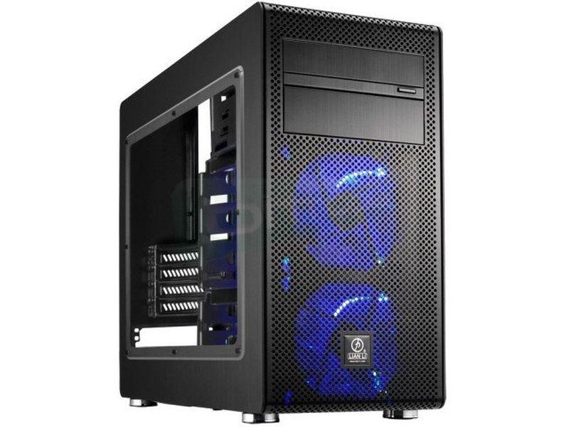 Lian-Li PC-V600FX Negra con Ventana. Micro-ATX - Incluye atractivos detalles, como lateral con ventana e interior pintado en color negro.
