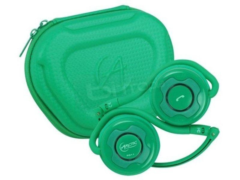 Arctic Sound Bluetooth P311 Verde - Auricular Bluetooth de color verde, compatible con portátiles, PCs, móviles, MP3, ...y con productos Apple. Conéctelos a su dispositivo vía Bluetooth y disfrute de un sonido de alta calidad sin cables. Ideal también para telefonía por internet.