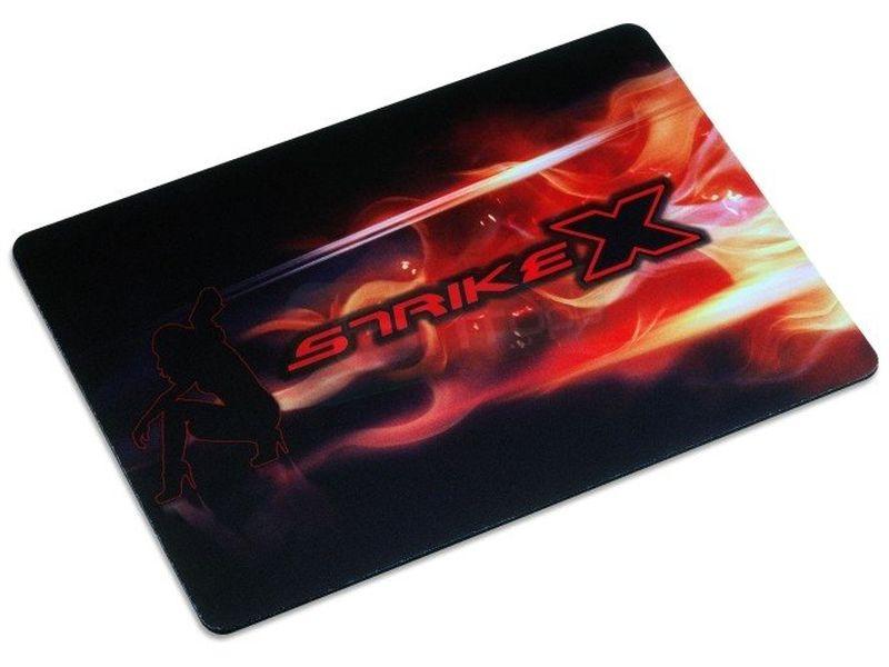Aerocool Strike-X Glider Alfombrilla Gaming - Alfombrilla diseñada para jugadores con una superficie que favorece el movimiento. 255mm x 352mm x 3mm.
