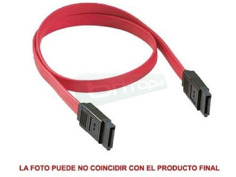 Cable SerialATA datos 30cm - Cable para transferencia de datos en dispositivos SATA, unidades opticas o discos duro.