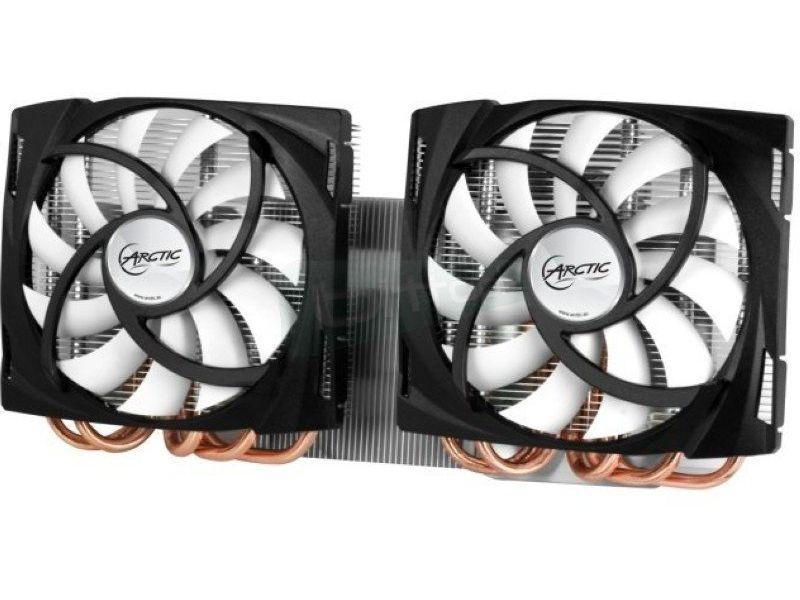 Arctic Cooling Cooler VGA Accelero TwinTurbo 6990 - Potente cooler de VGA ideal para overclockers y entusiastas. Consigue importantes resultados en refrigeración con el máximo silencio.