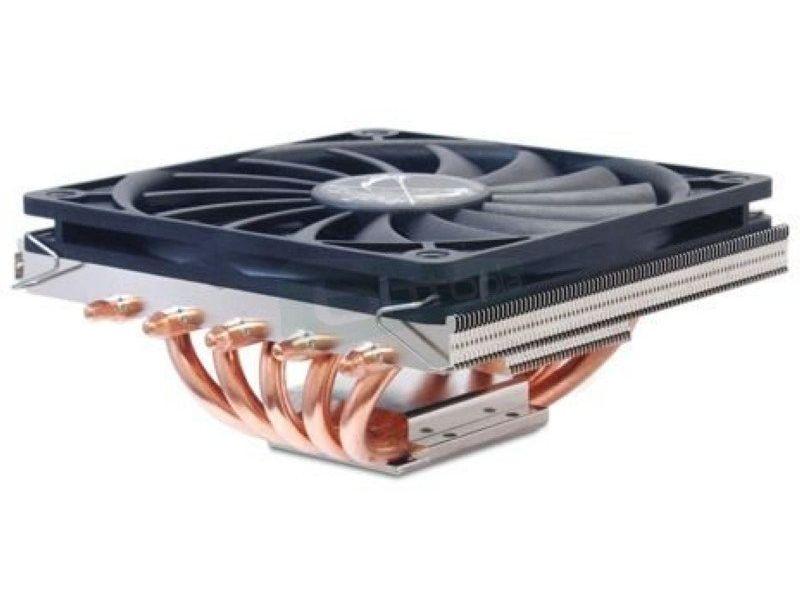 Scythe BIG Shuriken 2 Rev B - Cooler para CPU de bajo perfil. con tan solo 58mm de alto. Fabricado en niquelado de cobre. Ventilador 120mm. Compatible con: 775. 115x. 1366. 2011. AM2. AM2+. AM3. AM3+. FM1. FM2 y FM2+.