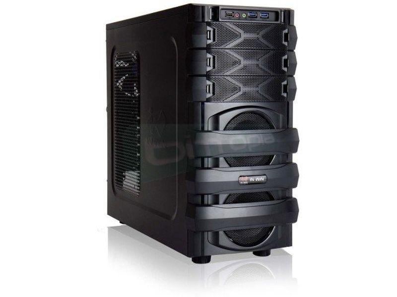 In Win Mana 134 Negra - Caja Semitorre Gaming en color negro. USB 3.0. hasta 3 x 5.25 externos y 6 x 3.5 internos. ATX.