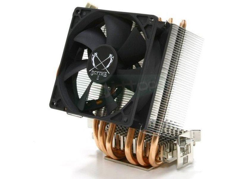 Scythe Katana 3-solo-AMD - Cooler para CPU, que roza la perfección, como la espada japonesa de la que recibe su nombre. Compatible con socket 754, 939, 940, AM2 y AM3. Con pinnes extras de refrigeración añadidos a la base. Incluye ventilador de 92mm y sistema de montaje VTMS. Equilibrio perfecto entre precio, silencio y prestaciones.