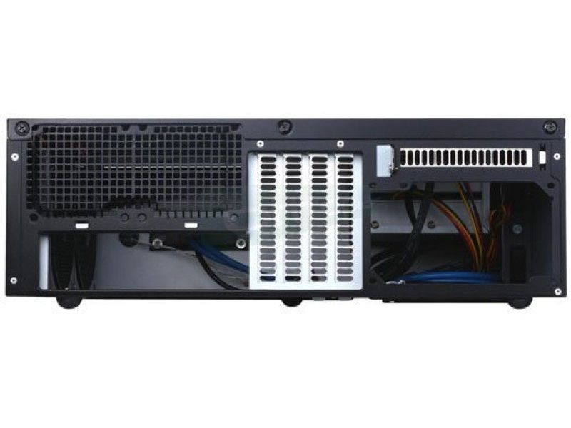 SilverStone GRANDIA GD06B Negro con USB 3.0 - Caja HTPC negra. Frontal con cierre de seguridad. Incluye dos USB 3.0. Micro ATX/Mini DTX/ Mini-ITX.