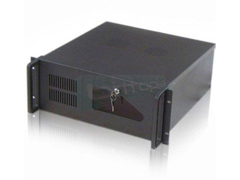 OEM Caja Rack 4U-406 sin fuente - Caja en formato Rack 4U económica de color negro compatible con placas ATX-Micro ATX.