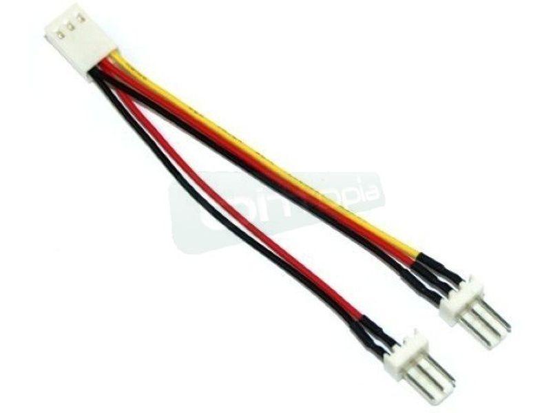 OEM Ladrón cable Molex 3-pin 1 Hembra x 2 Macho - Cable en forma de