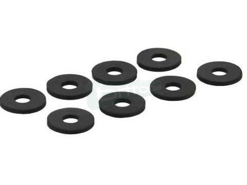 Inline 00244 Arandelas de goma para disco duro - Prácticas arandelas de goma que pueden ser usadas para el montaje de HDD, por ejemplo.