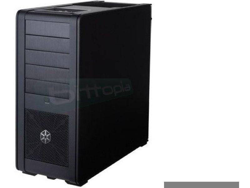Silverstone FT01B-W Negra con Ventana con USB 3.0 - Caja Torre negra, fabricada en aluminio. Incluye USB 3.0 y lateral con ventana.