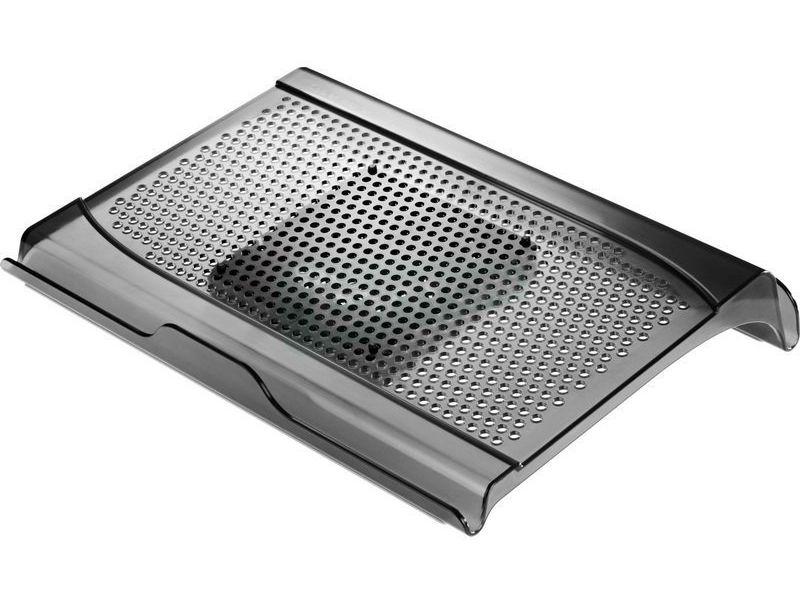 Cooler Master Notepal U-Lite - Base de plástico/caucho en negro. Hasta 15. 21dBA. USB.
