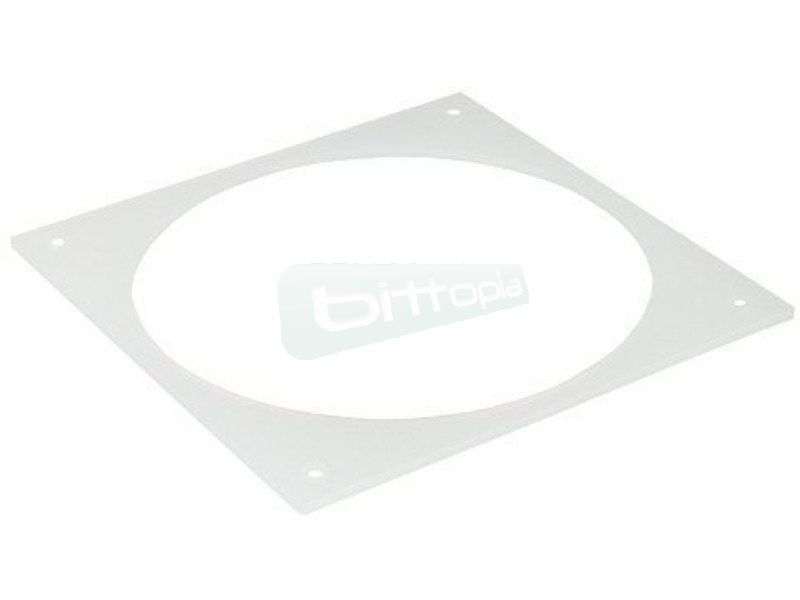 Inline 36208I. Marco de goma para ventilador de 80mm - Junta antivibraciones para ventiladores de 80mm.