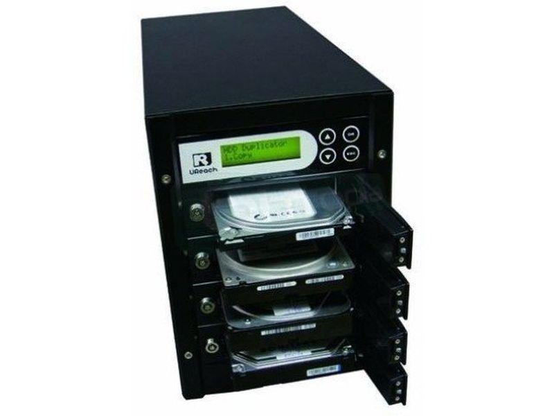 UReach duplicadora de discos duros HD-S03 - Duplicador autónomo de Discos Duros SATA 2.5 y 3.5. que no require uso del PC.