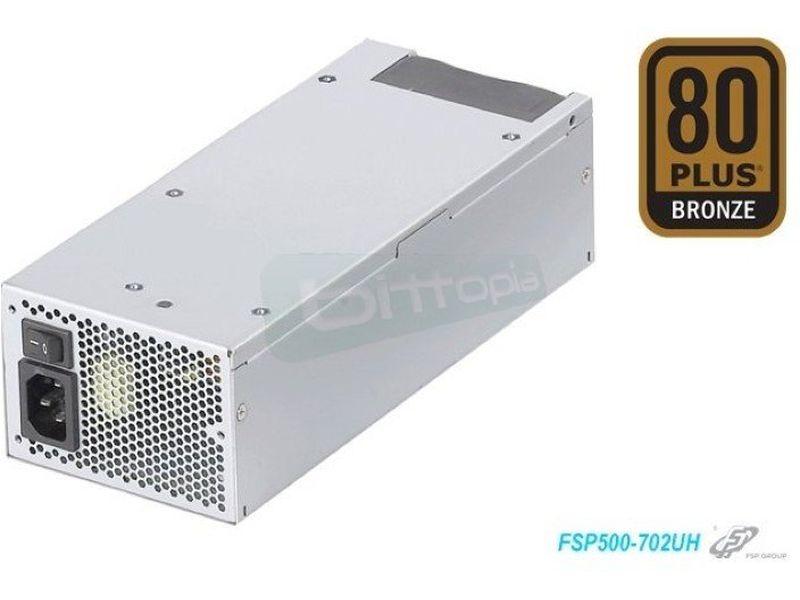 Fuente alimentación RACK 2U/3U 500W 80Plus B - F. Alimentación 500W 80+ Bronze. Para racks 2U/3U.