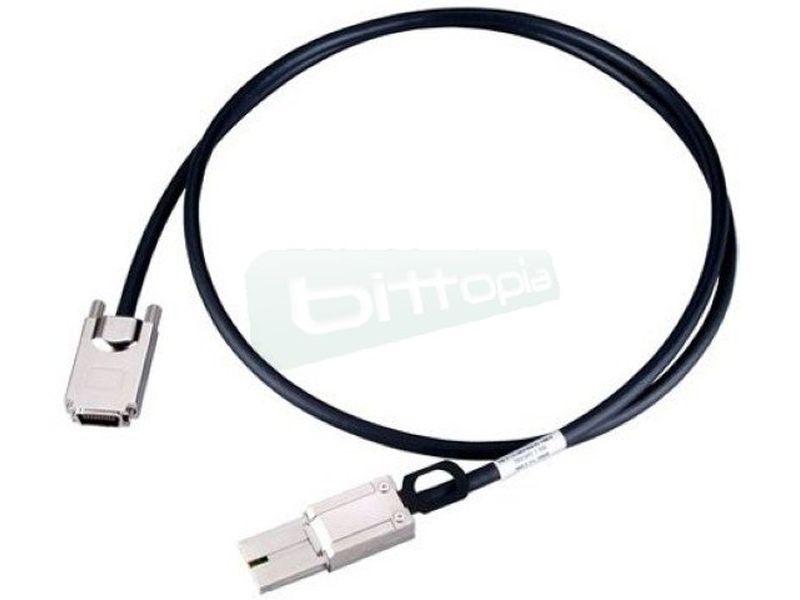 Netstor AAMS3810 Cable PCI Express 4x de 1,5m - Cable PCI-E 2.0 x4 para conectar la tarjeta Netstor NP965A con las cajas Netstor. Compatible con los modelos 211A/221A. Longitud 1,5m.