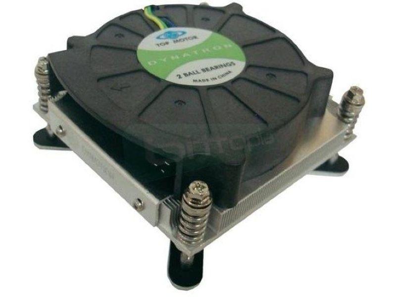 Dynatron T191G 775 Rack 1U Activo - Cooler de bajo perfil para RACK 1U compatible con socket 775 con ventilador de 80mm.