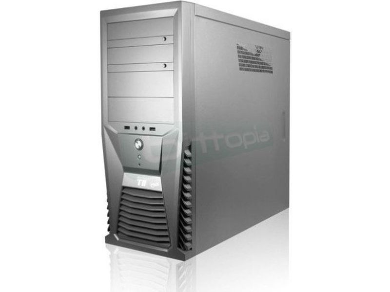 Arctic Cooling Silentium T11 Grafito - Caja Semi-Torre completamente en color grafito. Conexiones USB 2.0 y audio frontales. 4 x 5,25