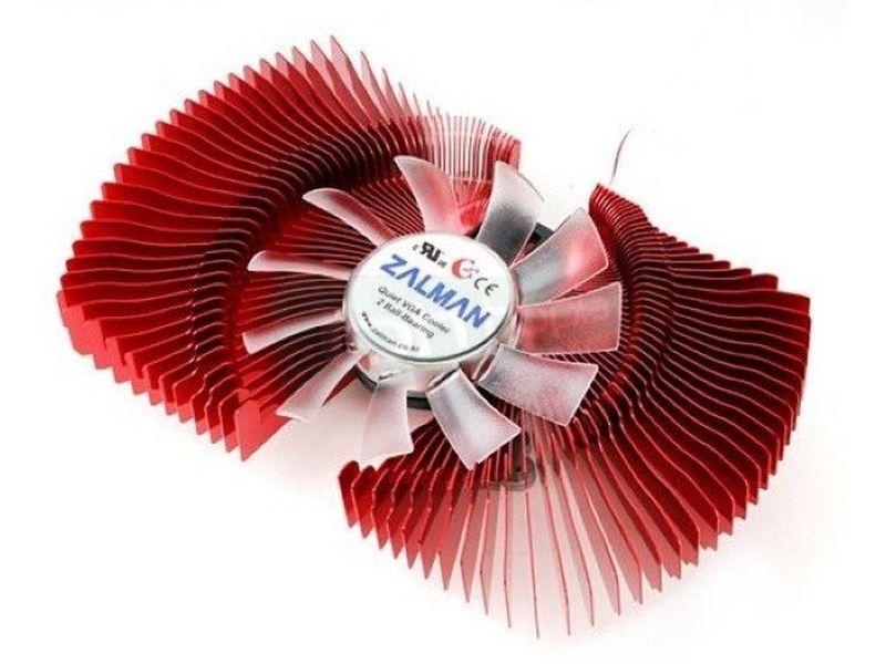 Zalman VF770. Cooler para VGA - Cooler para VGA fabricado en aluminio. Ventilador 80mm. 1350~2650RPM. 18,5~28,5dBA.
