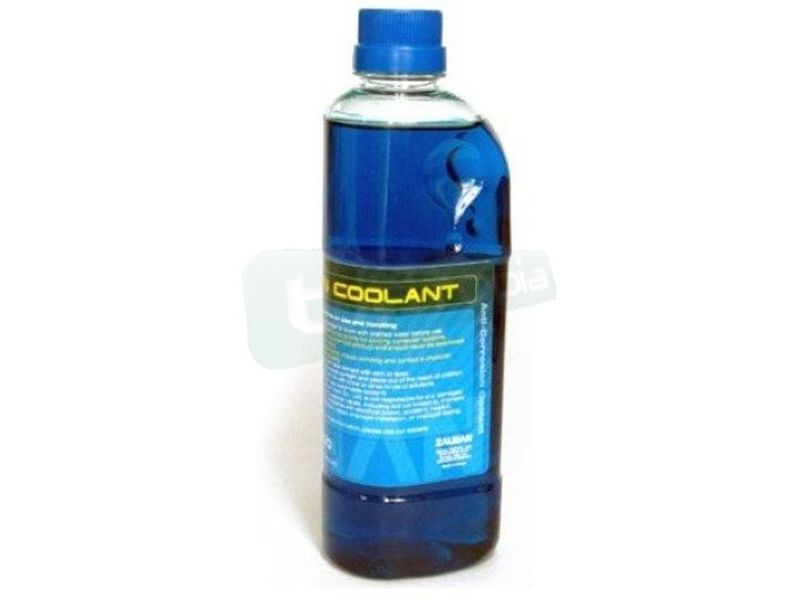 Zalman Coolant ZM-G200. Anticorrosivo 500ml - Refrigerante concentrado y anti-corrosión color azul. 500ml.