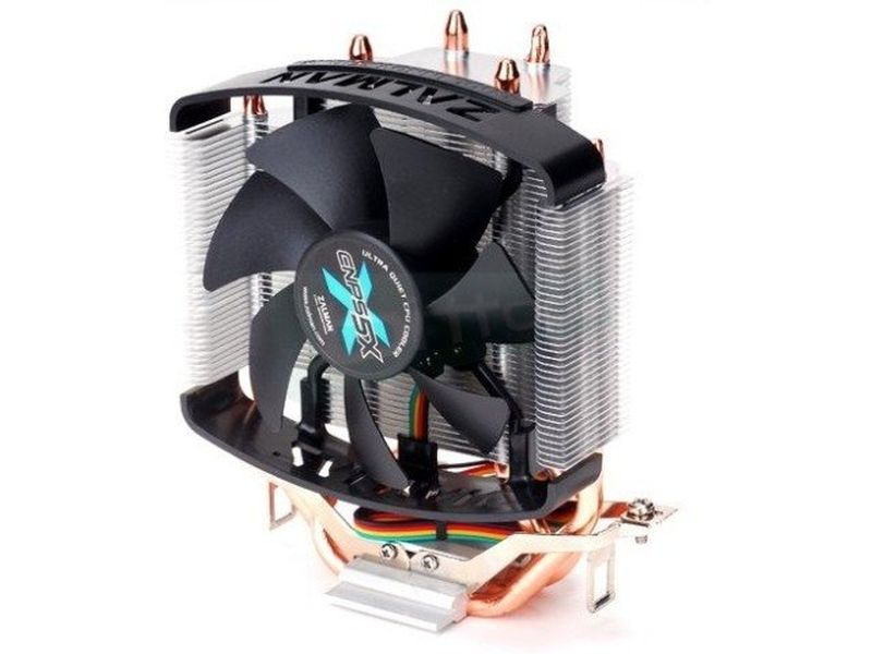 Zalman CNPS 5X Performa - Cooler para CPU fabricado con base de cobre. Compatible con Socket FM2/FM1/AM3+/AM3/AM2+/AM2/940/939/754 y Socket 1156/1155/775.