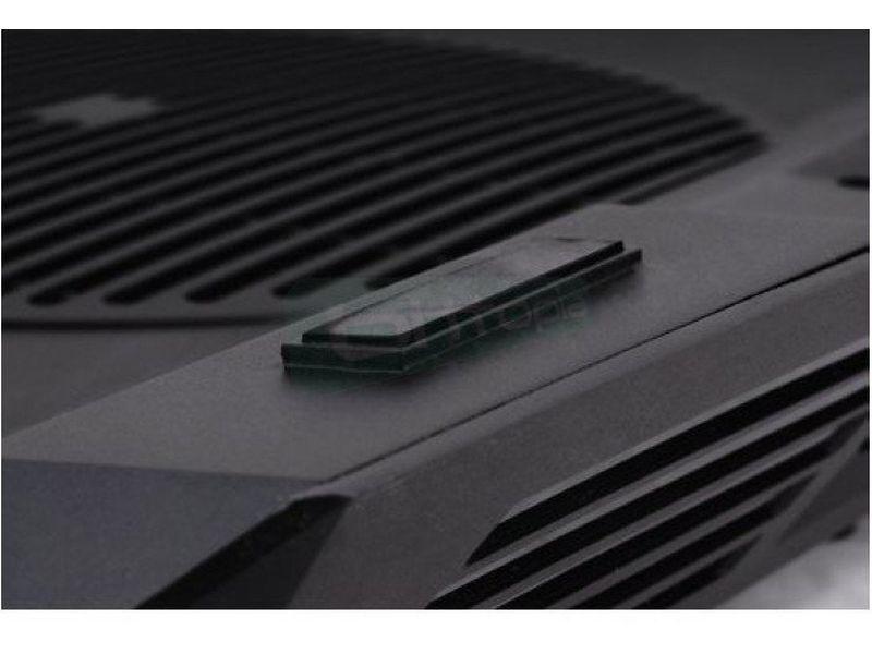 Zalman NC11. Notebook cooler - Base de Plástico/Acero en negro. Desde 12