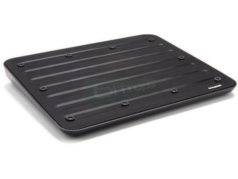 Zalman NC3. Notebook cooler - Base de Plástico/Acero en negro. Desde 12