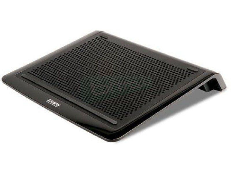 Zalman NC3000S. Notebook cooler - Base de Plástico/Aluminio en negro. Desde 12 hasta 17. 17~23dBA. USB.
