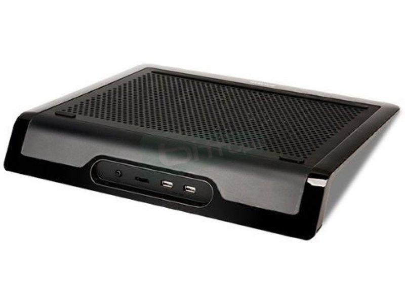 Zalman NC3000S. Notebook cooler - Base de Plástico/Aluminio en negro. Desde 12