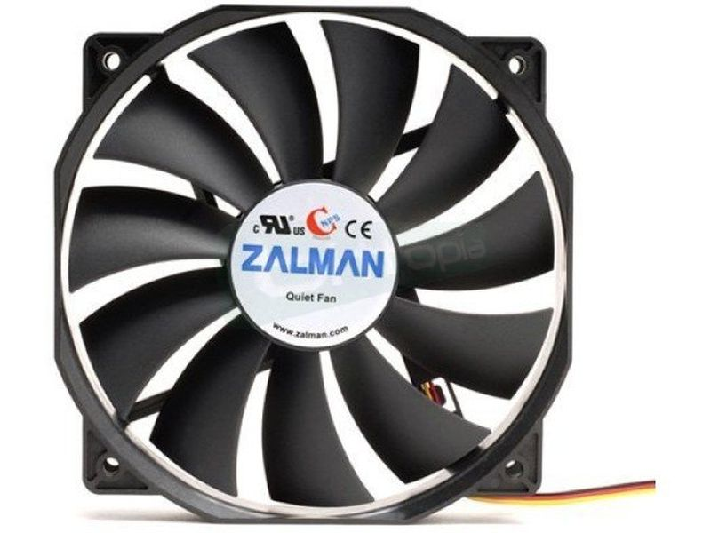 Zalman ZM-F4 120x120 con aspas de 135x135 - Ventilador 120x120x25. 900~1300RPM. 18~26dBA. 151gr.