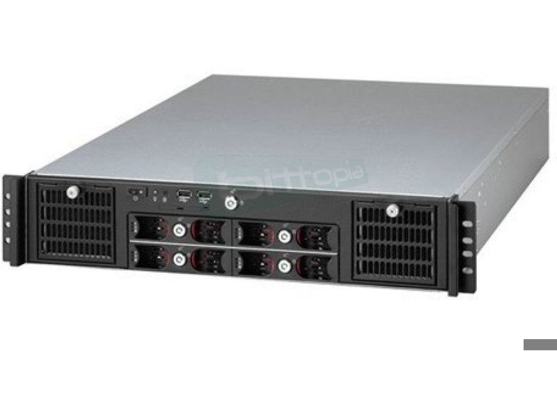 Travla T-2840. Caja Rack 2U 0W 4 HD Hot-Swap Extended-ATX